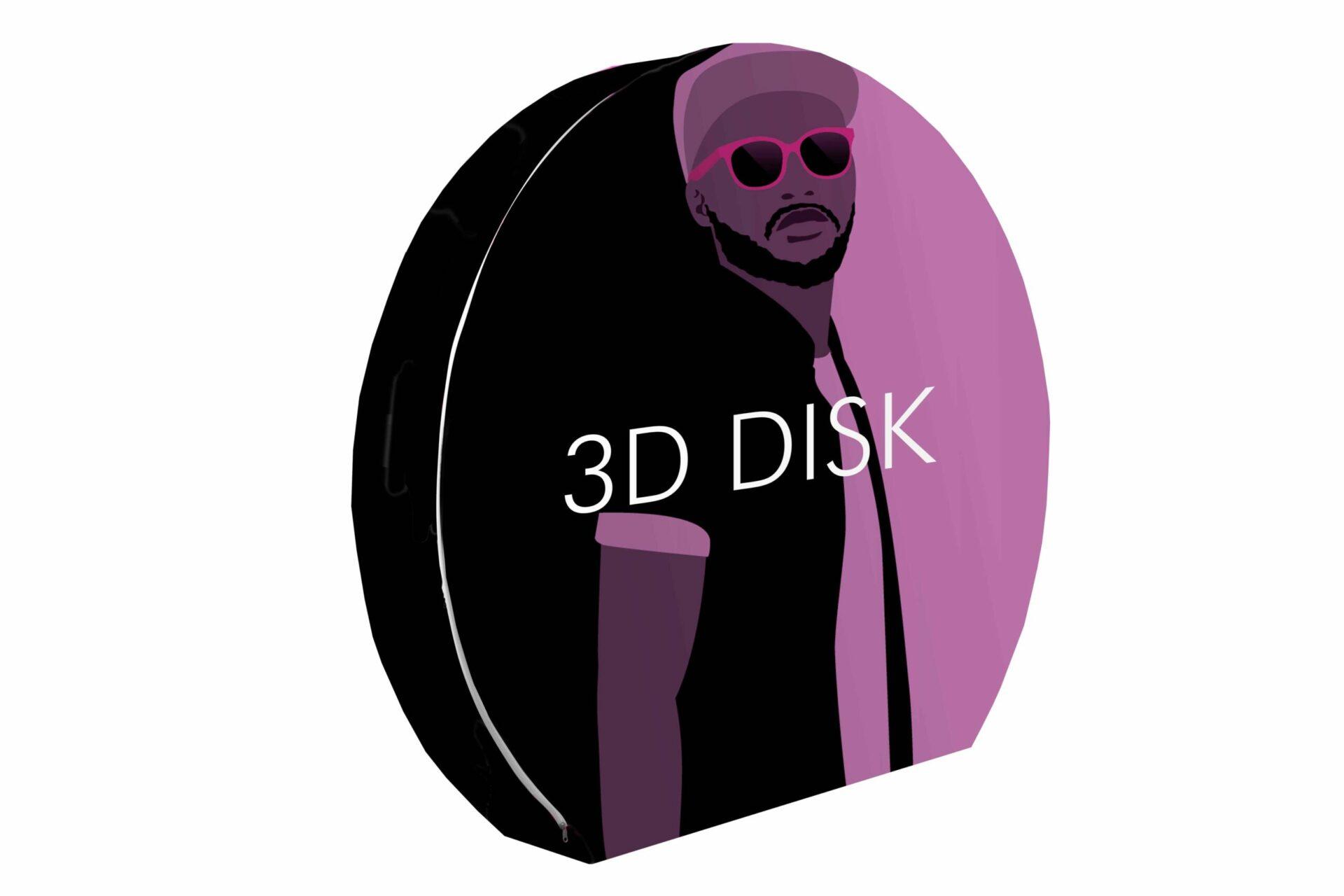 VD-TUB-Disque 3D
