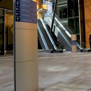 Signalétique intérieure de bâtiments